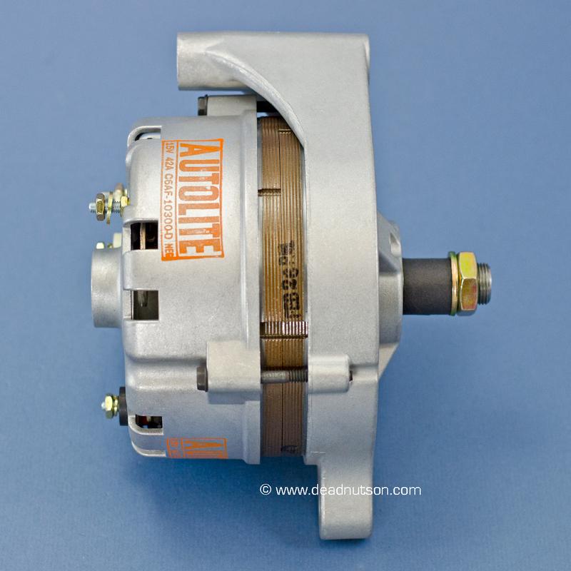 1967 289 Hipo +PS -PS  Autolite Alternator C6AF-10300-D (built after Nov 1966)