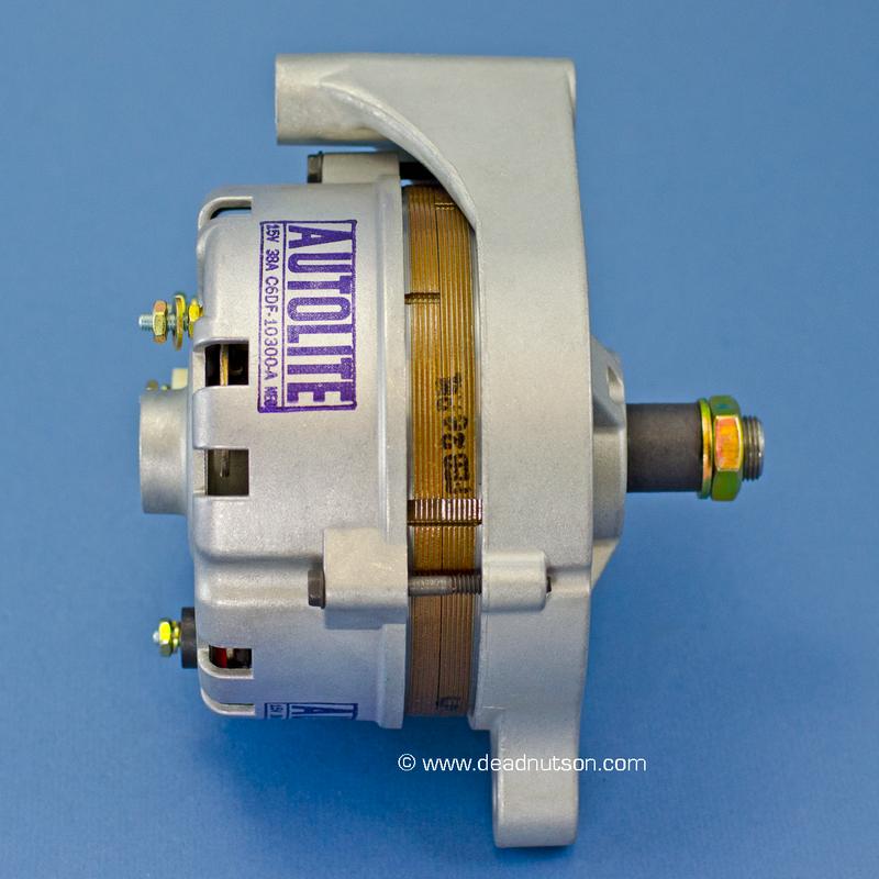 1968 200, 289, 302 +PS -PS Autolite Alternator C6DF-10300-A (before June 1968)