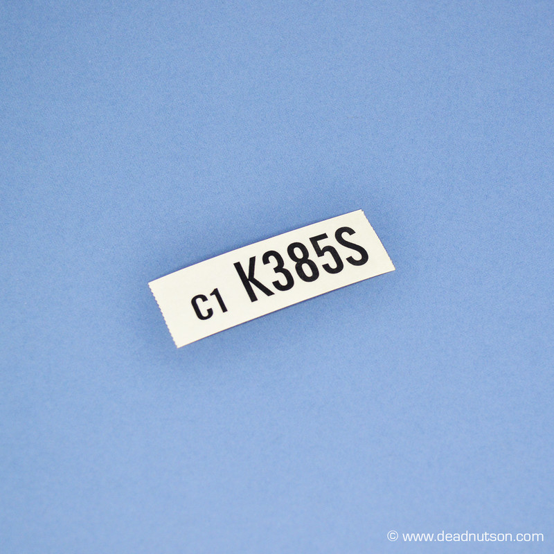 1969 390 4V  Automatic  Engine ID (K385S)