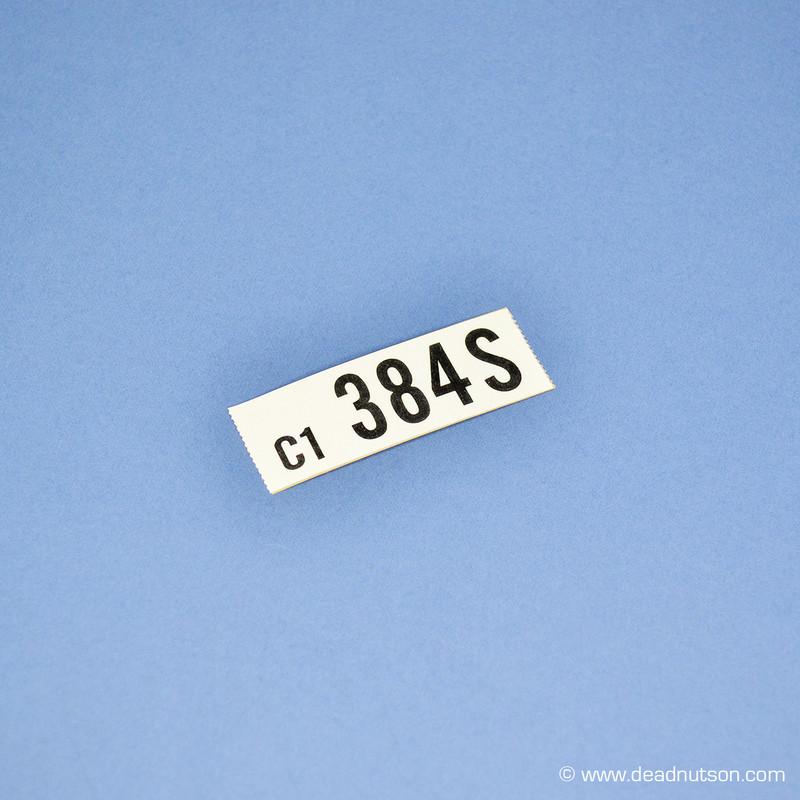 1969 390 4V  Manual Transmission  Engine ID (384S)