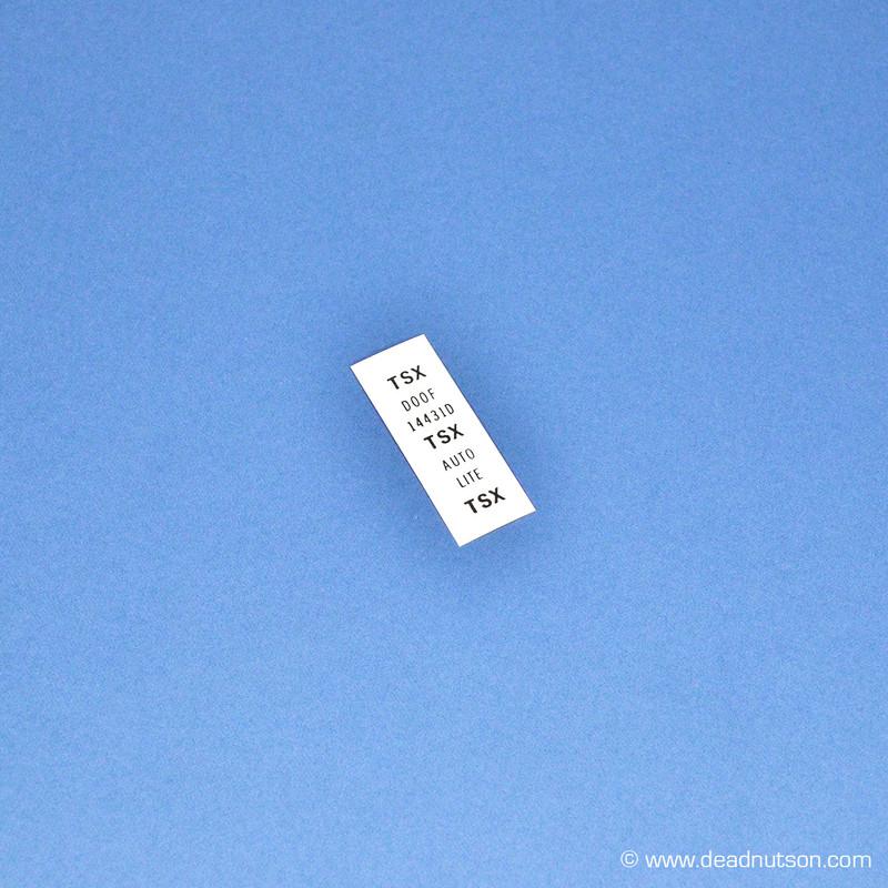 1970 Starter Solenoid > Starter Cable Tag | 351C 4V/428 S/CJ