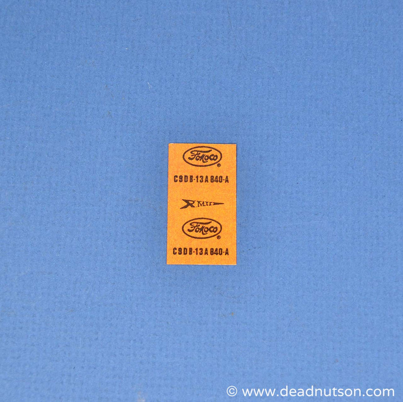 Drag Pack Horn Jumper Wire Tag
