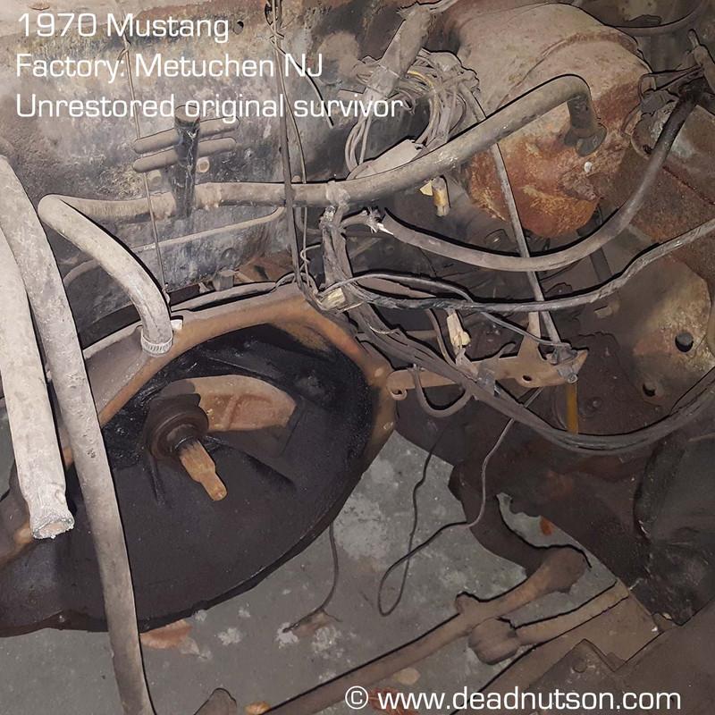 1970 Brake Booster Hose w/clamps KV