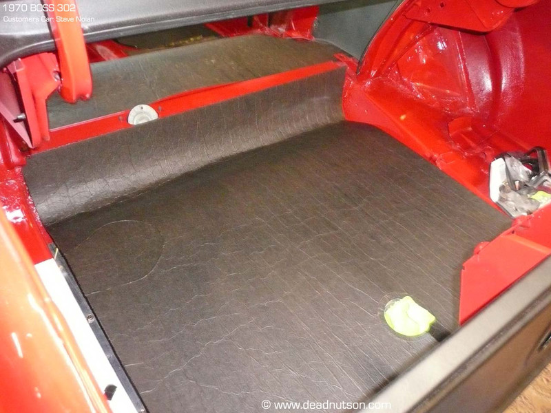 Installed correctly in a BOSS 302