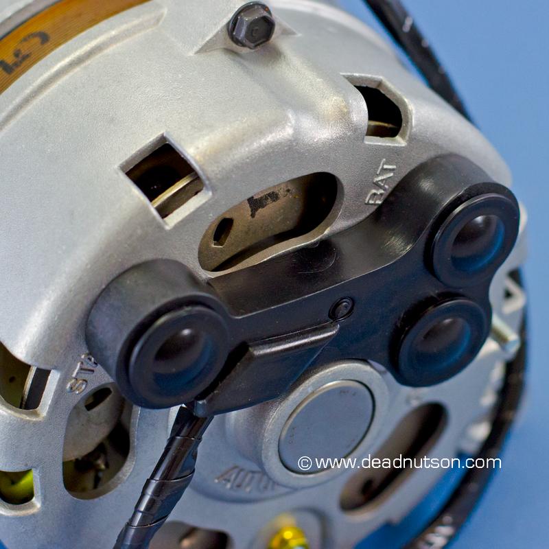 Alternator Wire Harness Dog Bone Terminal Caps
