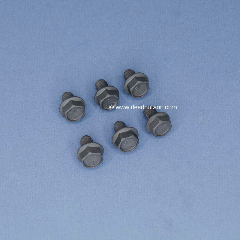 FORD FE Water Pump Backing Plate Bolts (6)