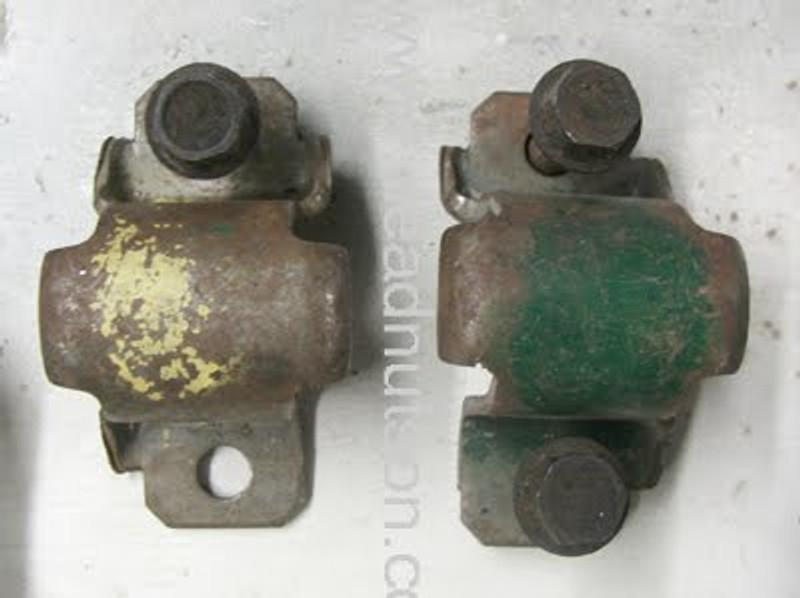 Original BOSS 429 front sway bar brackets