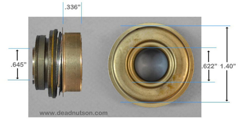 1962-68 Ford FE Water Pump Seal (small bearing)