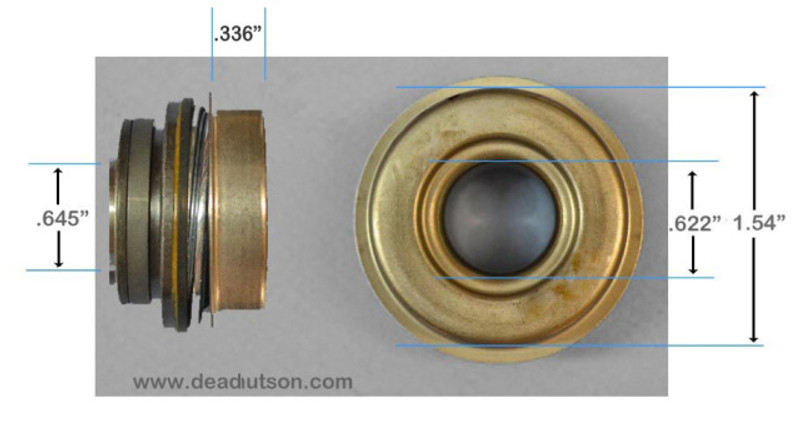 1969-70 390, 428 S/CJ Water Pump Seal (big bearing)
