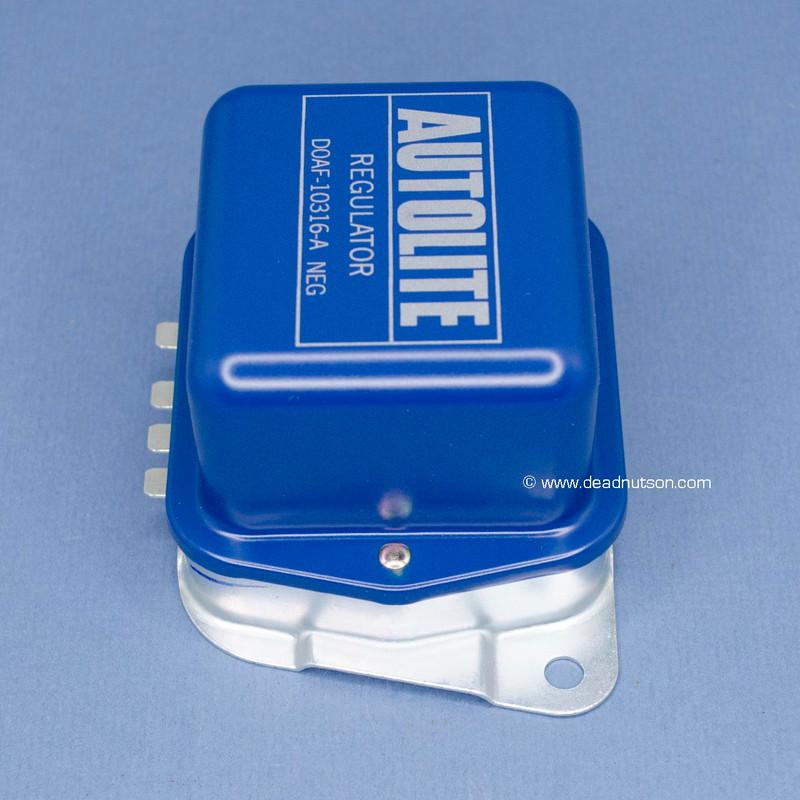 5/1970-1971 Autolite Voltage Regulator 42-55 Amp