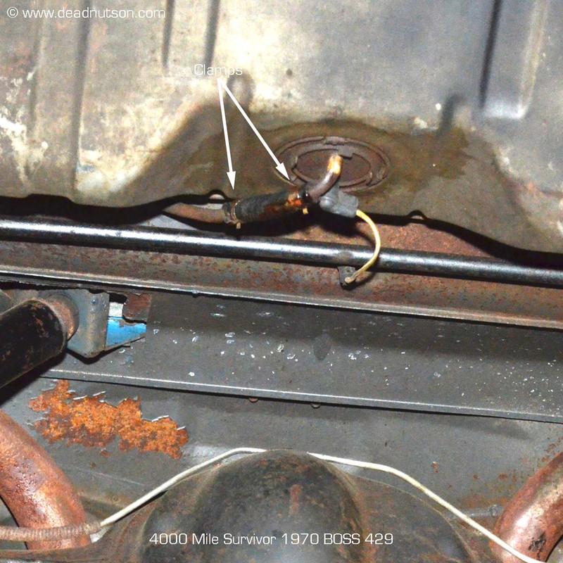 NOS Fuel Line Spring Clamp Set 6pc