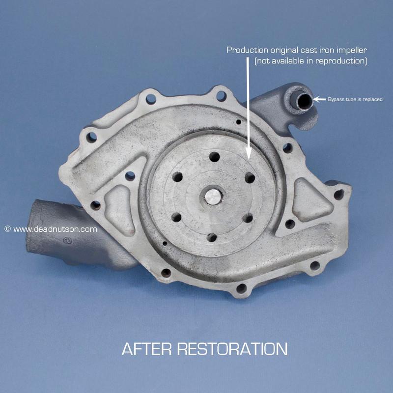 BOSS 429 Water Pump Rebuild Service & Return Shipping