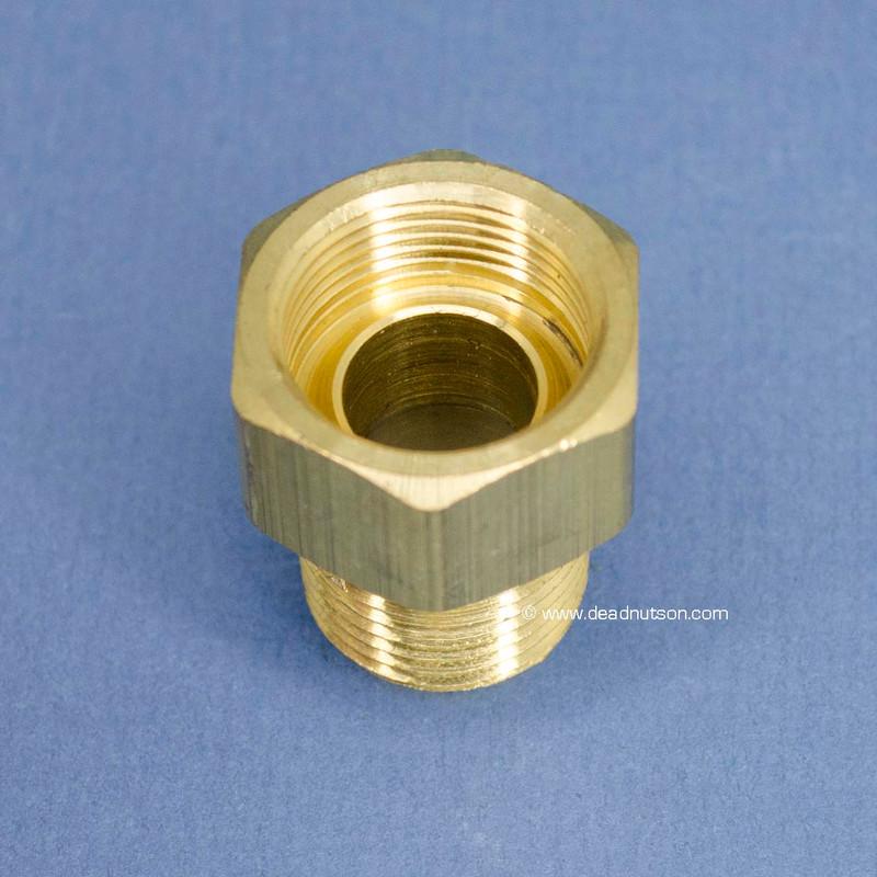 BOSS 429 Water Pump Heater Tube Brass Fitting