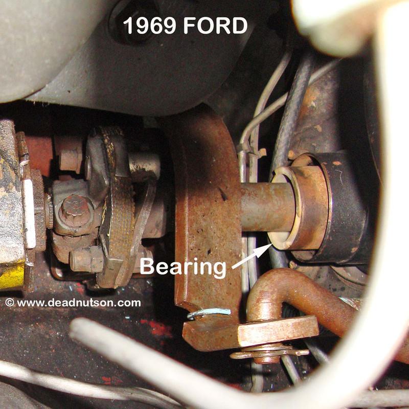 1969-70 Lower Steering Column Nylon Tube Bearing