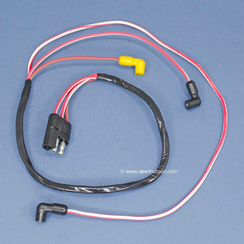 1970 428 Engine Gauge Feed Wire Harness