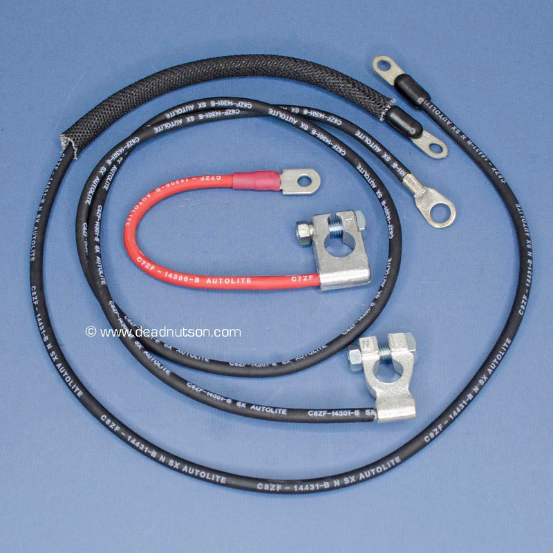 1969 351W, 390 Battery Cable Set