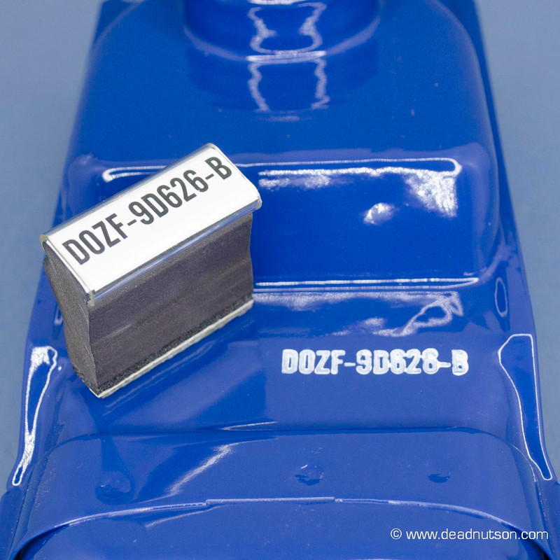 1970 BOSS 302 Air Cleaner Snorkel Stamp