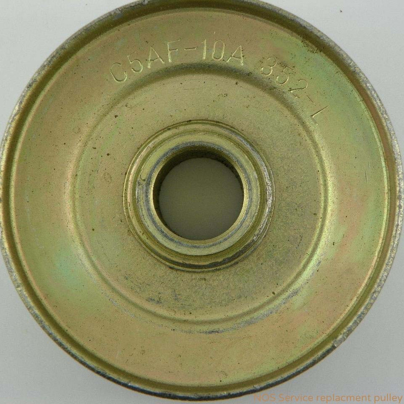 1969 BOSS 302 NOS Alternator Pulley