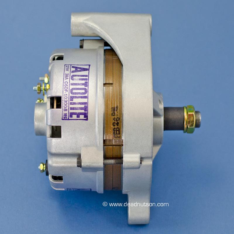 1968 390 + EM Autolite Alternator C6DF-10300-B (before June 1968)