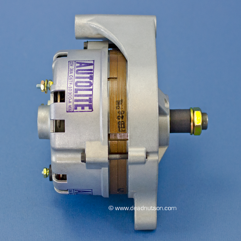 1968 390 STD +PS -PS  Autolite Alternator C6TF-10300-A (after May 1968)