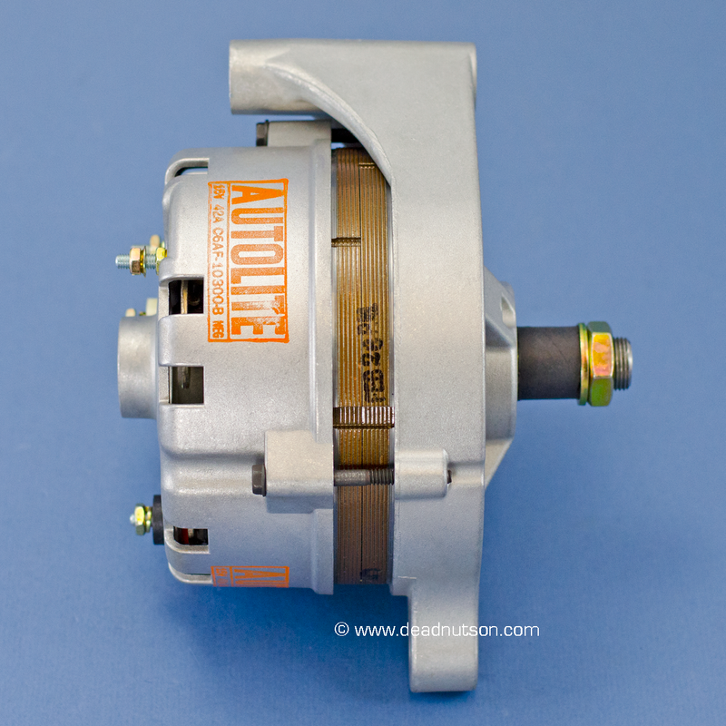1969 351W +/- PS Autolite Alternator C6AF-10300-B (before March 1969)