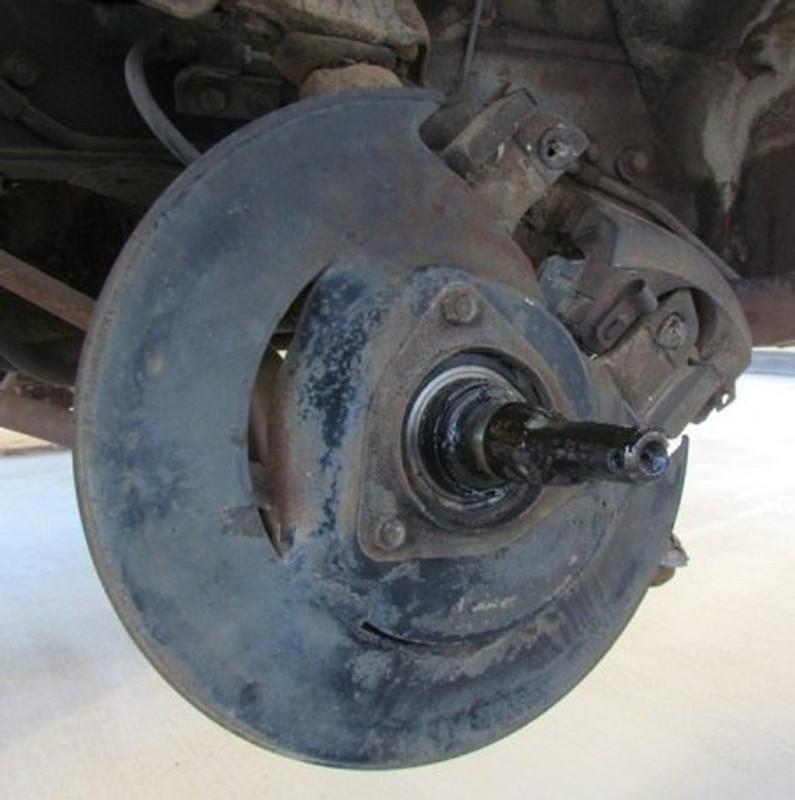 1969-73 Disc Brake Driver Side Dust Shield