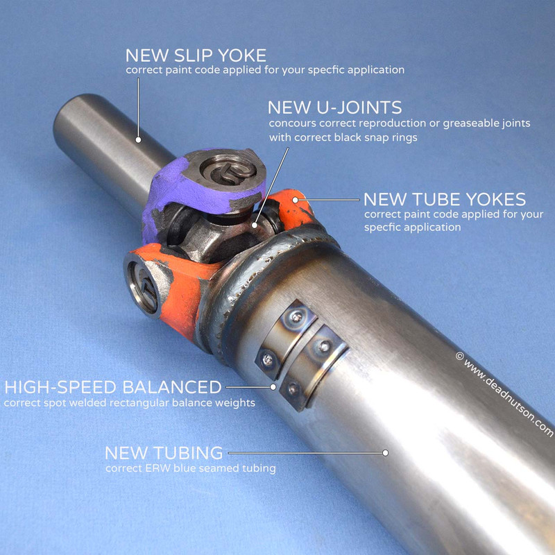 1969 390 Automatic Reproduction Driveshaft