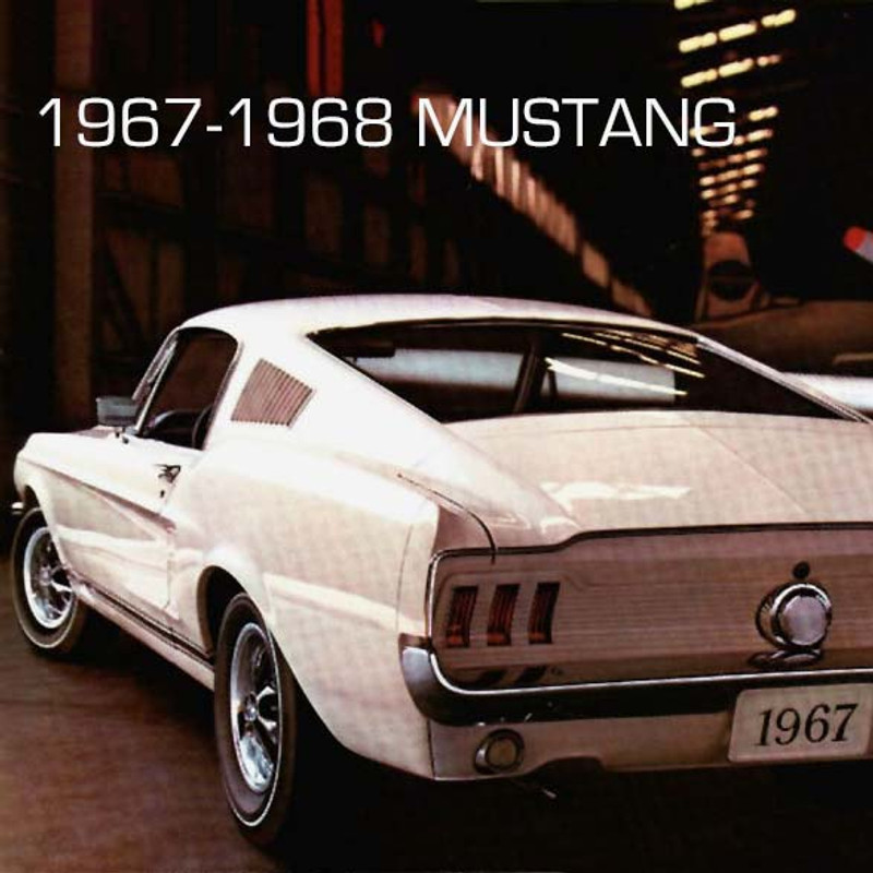 1967-68 Mustang  Concours Reproduction Driveshaft