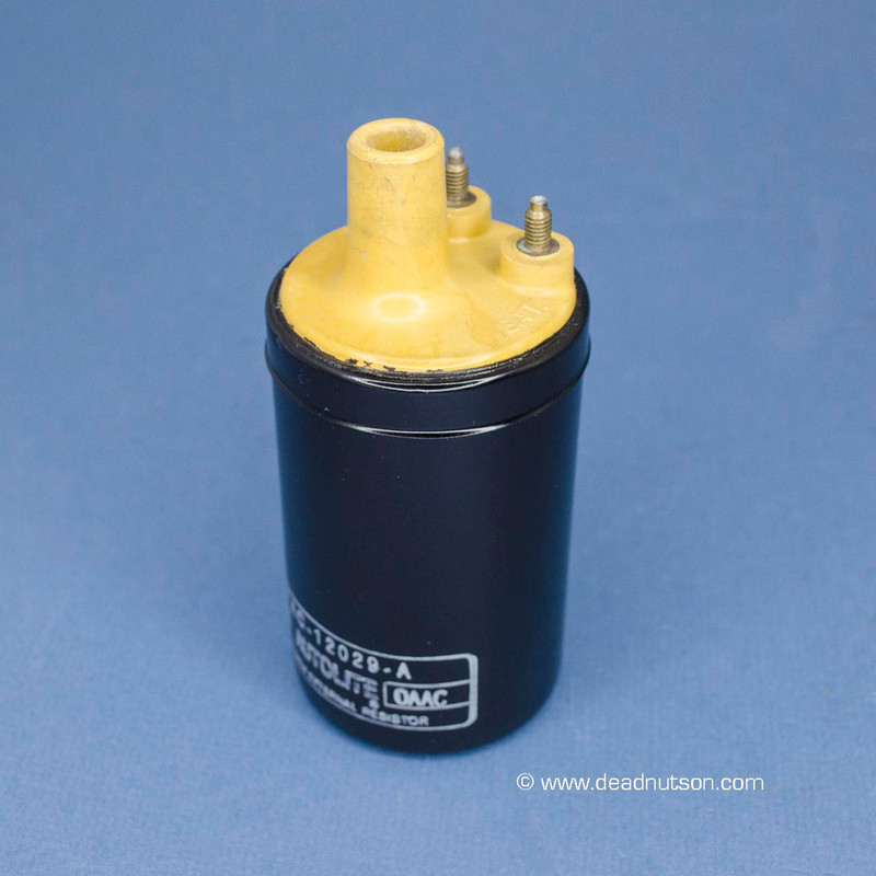 Refurbished Autolite Yellow Top Coil - Date Coded