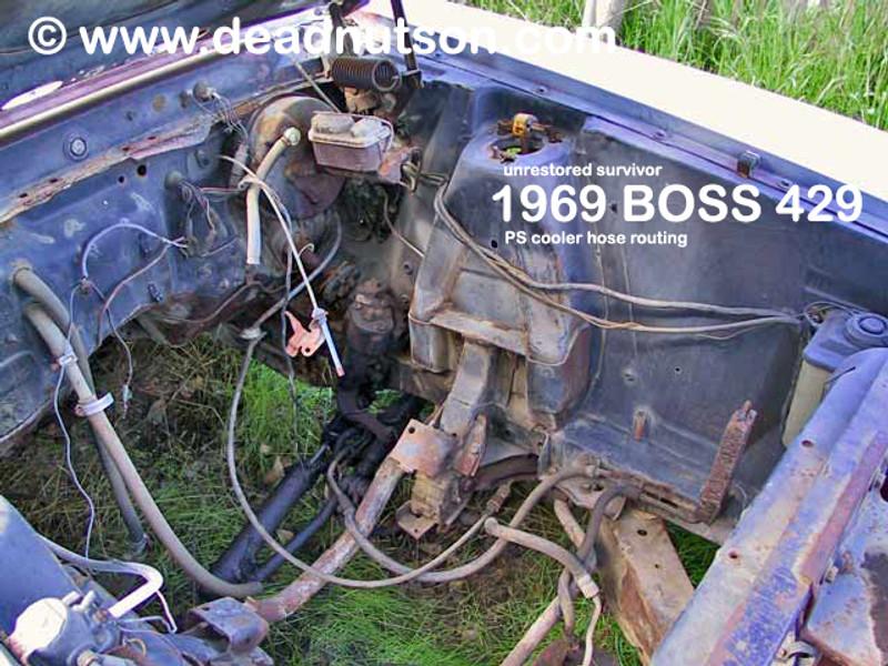 BOSS 429 Power Steering Cooler Mounting Screw