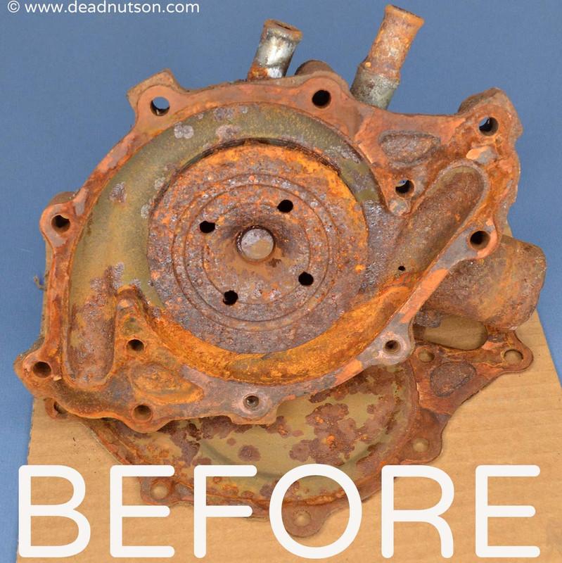 1969 Boss 302 water pump rebuild service & Return Shipping