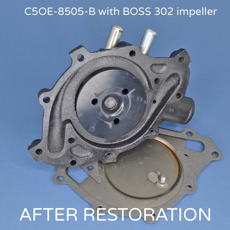 C5OE-B water pump with BOSS 302 Impeller