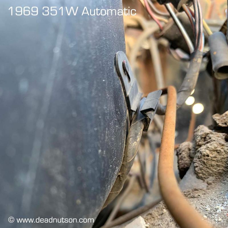 1967-70 Firewall Wire Harness Clip