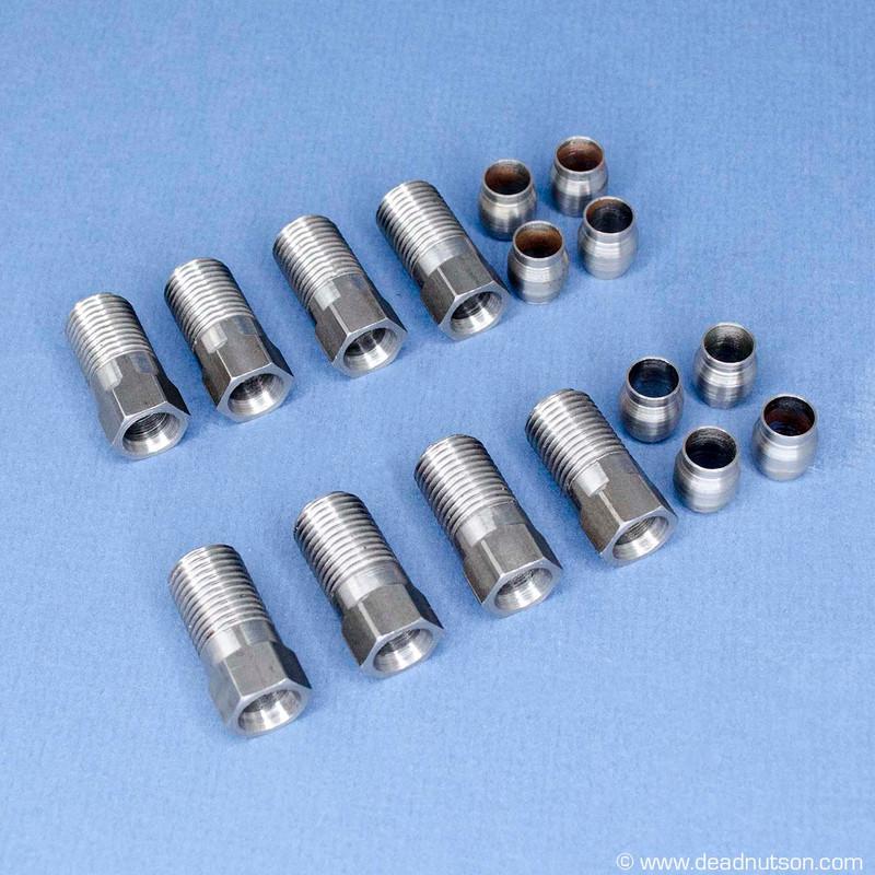 Emissions Tube Nuts & Ferrules 428 CJ, 428PI, 390 GT