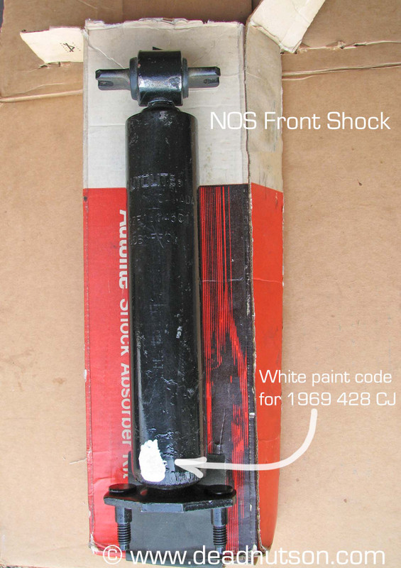 1965-70 Front Shock Rubber Bushings & Washers