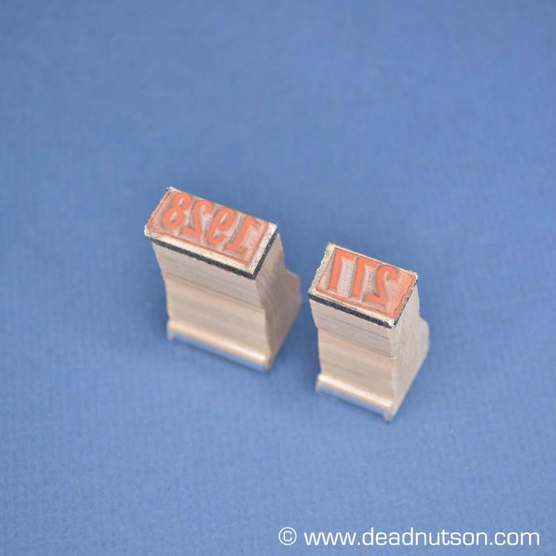 Carter X Fuel Pump Ink Stamps