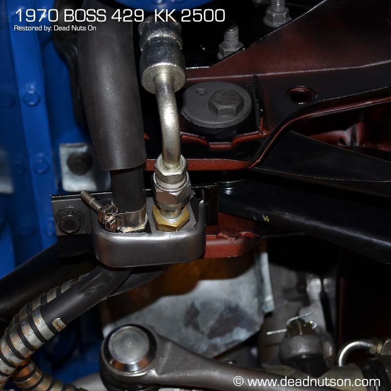 1970 Power Steering Hose Alignment Bracket