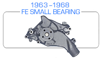1963-68 Ford FE small bearing water pump rebuild kits