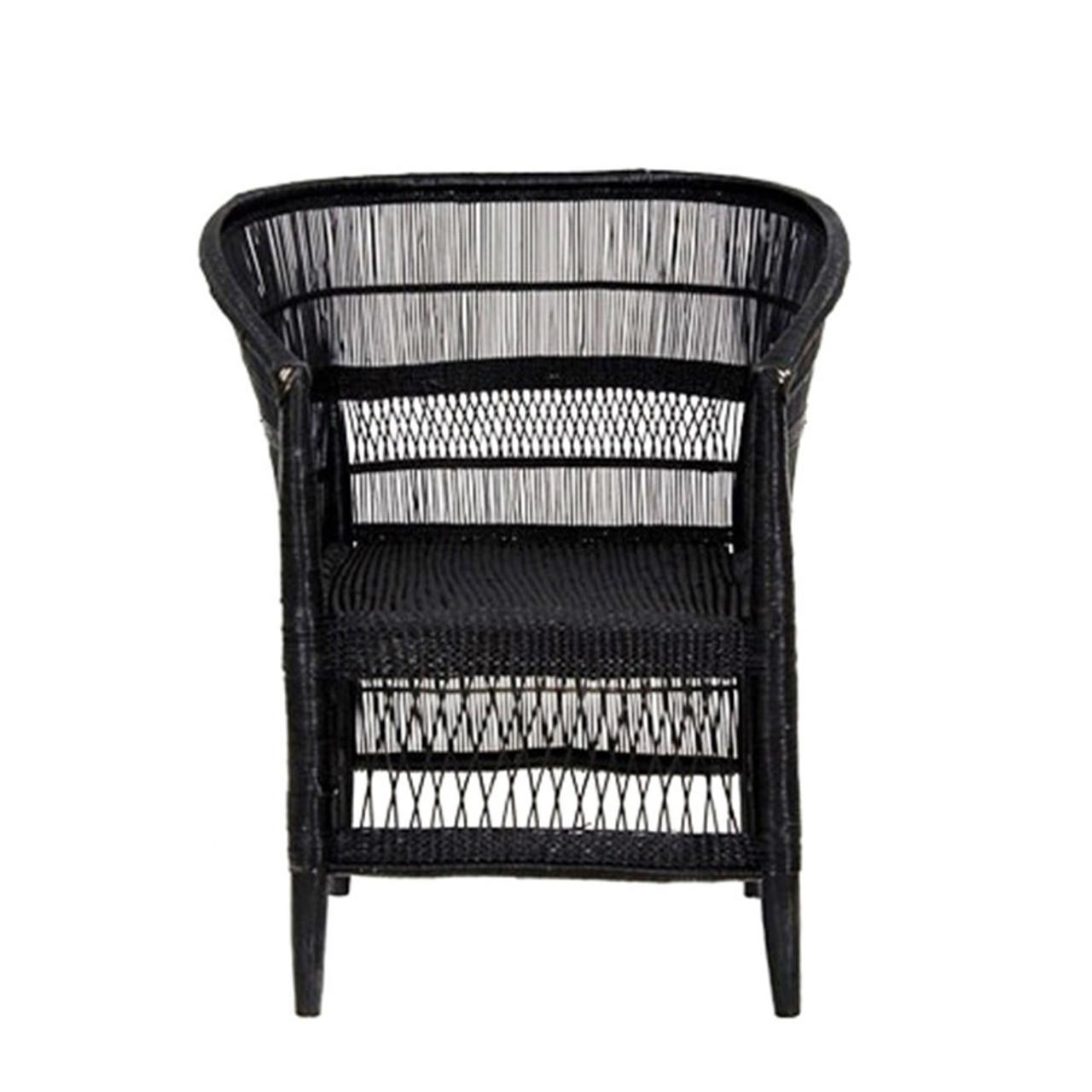 Admirable Malawi Cane Chair Black Inzonedesignstudio Interior Chair Design Inzonedesignstudiocom