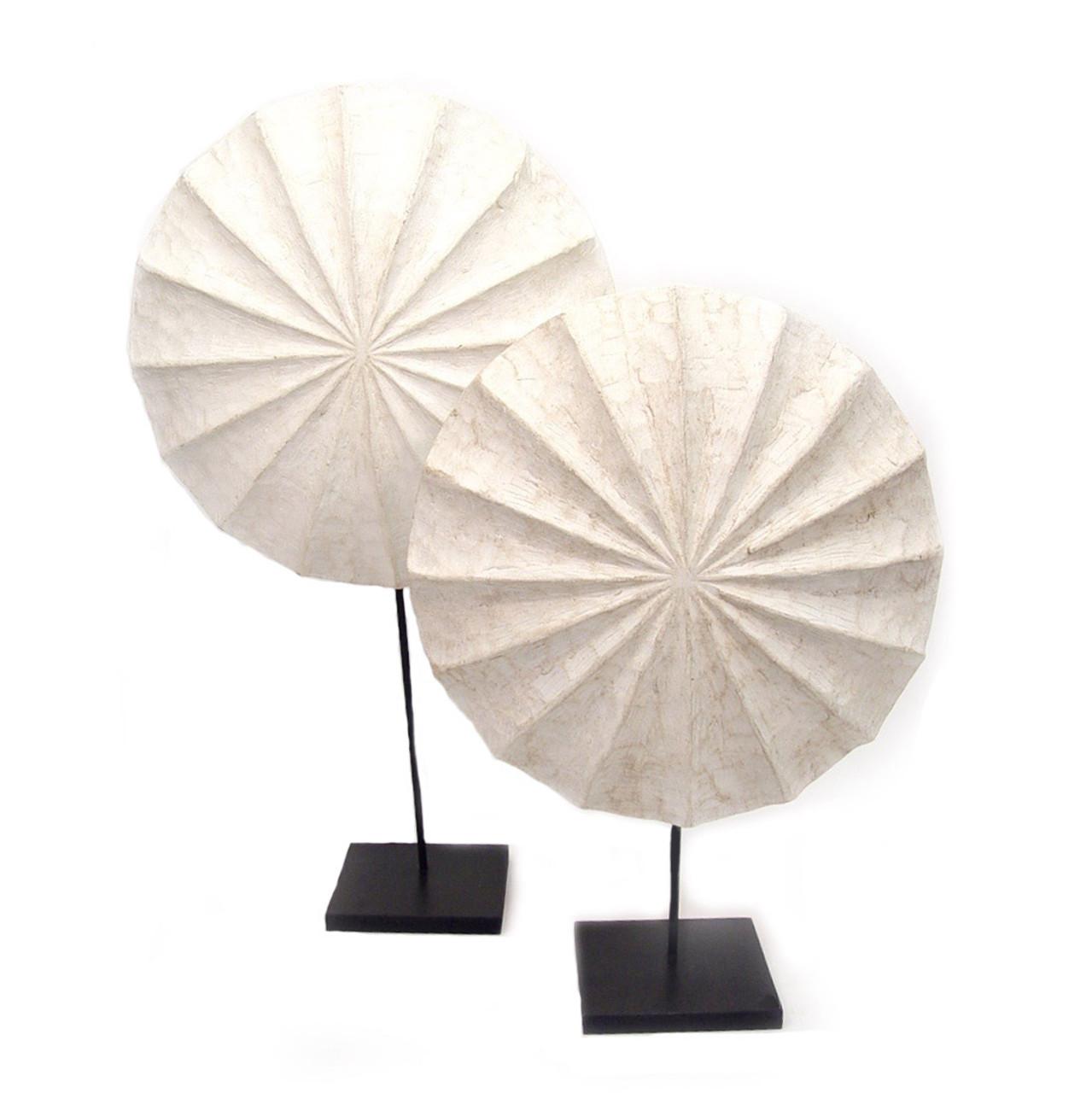 White Bamileke Shield
