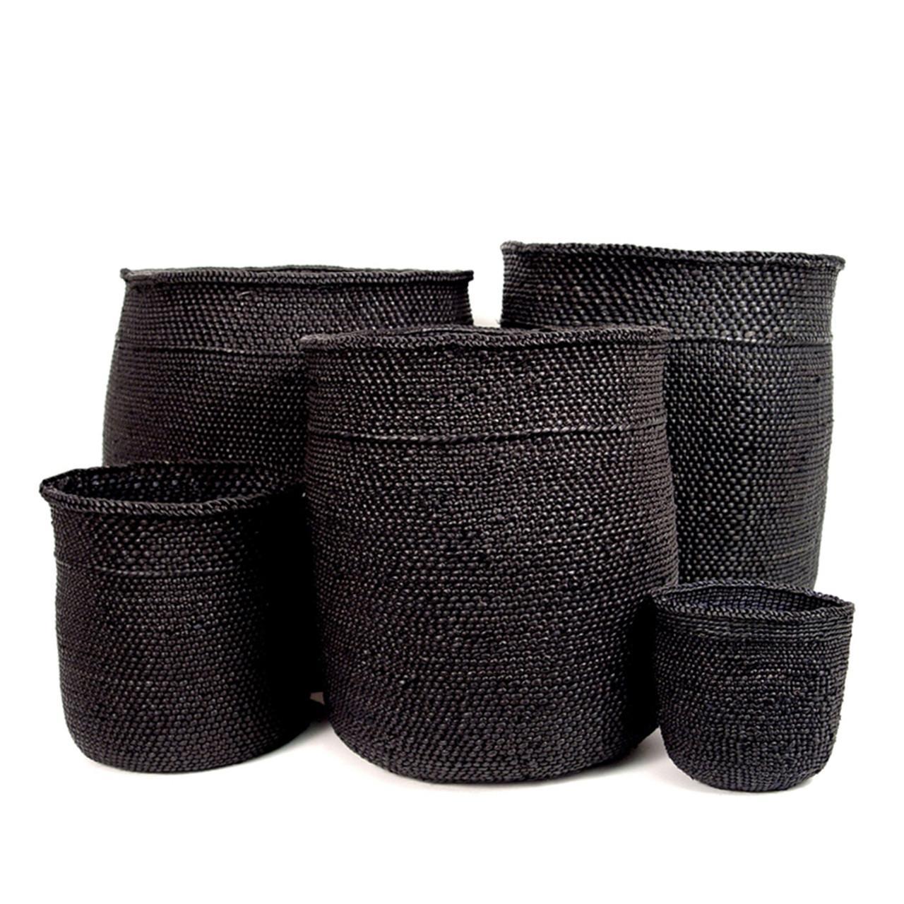 Bon Full Black Iringa Baskets