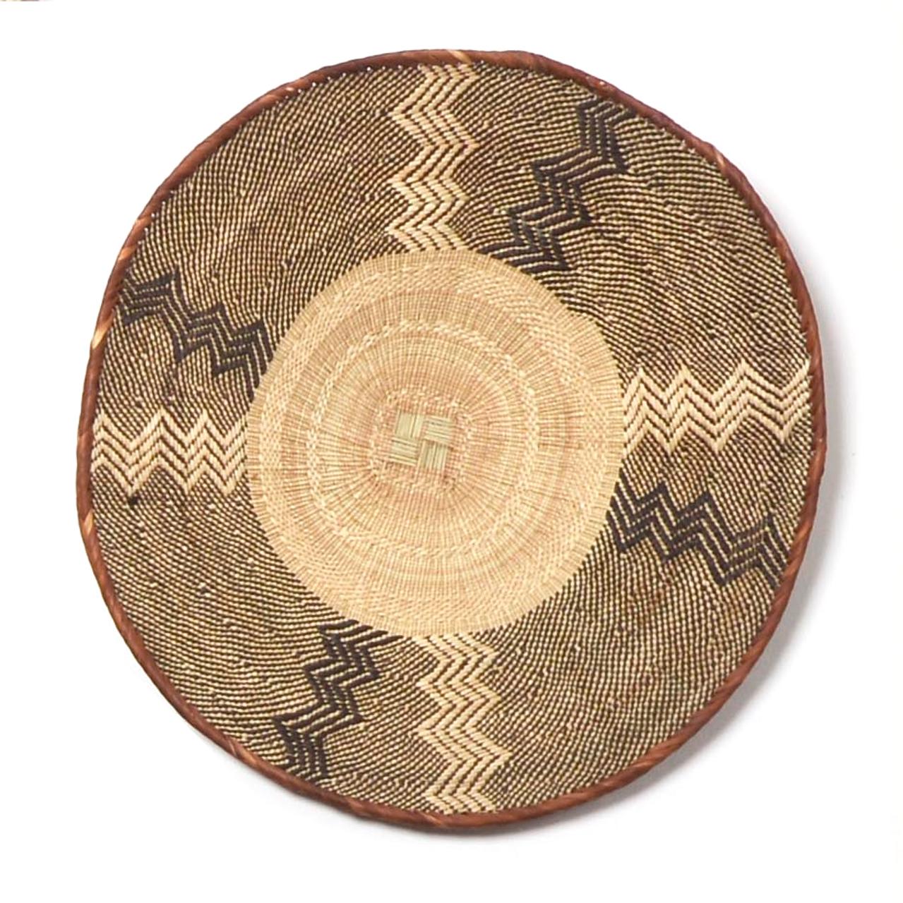 Extra Large African Wall Basket Tonga Basket Mbare