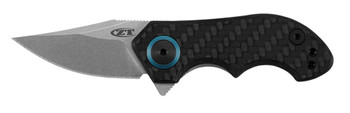 Zero Tolerance 0022 Small Galyean Frame Lock Knife CF