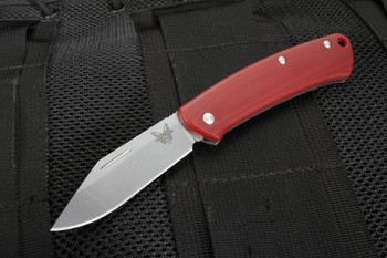 Benchmade 318-1 Proper Red Slip-joint