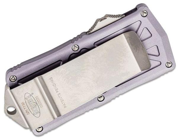 Microtech 157-10GY Exocet OTF Money Clip AUTO