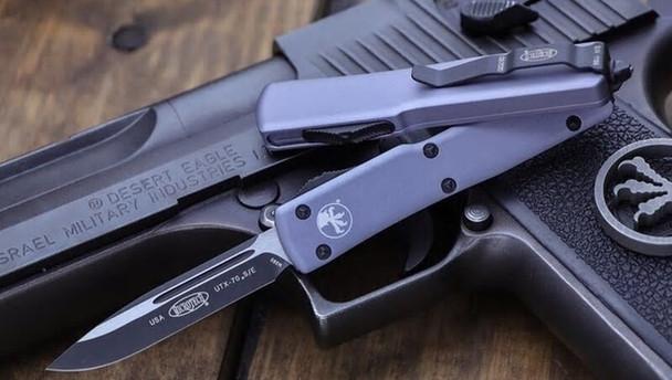 Microtech 148-1GY UTX-70 AUTO OTF Knife