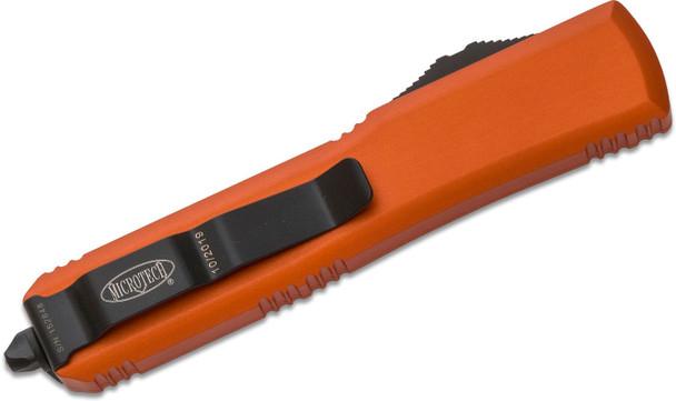 Microtech 122-1OR Ultratech D/E Orange