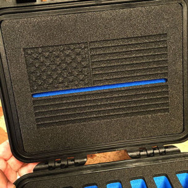Pelican 1300 Thin Blue Line Lid Foam