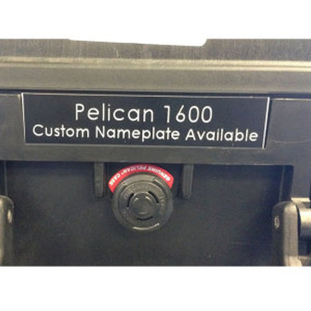 Pelican 1600 Nameplate