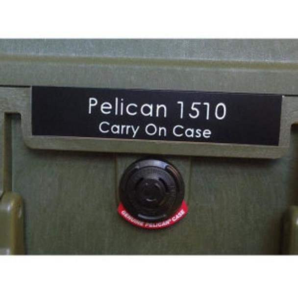 Pelican 1610 Nameplate